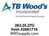 TBWOODS 283.25.27U VARITORK CLUTCH 25 5/16 --