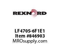 REXNORD LF4705-6F1E1 LF4705-6 F1 T1P LF4705 6 INCH WIDE MATTOP CHAIN WIT