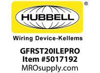 HBL_WDK GFRST20ILEPRO 20A COM SELF TEST EPRO GFR IVORY