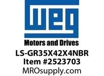 WEG LS-GR35X42X4NBR LIP SEAL NITRILIC FOR 207BRG Integrals