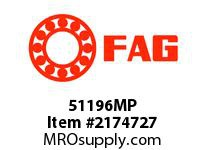 FAG 51196MP SINGLE DIRECTION THRUST BALL BEARIN