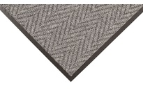 NoTrax 118S0034GY 118 Arrow Trax 3X4 Gray Arrow Trax mats provide exceptional performance in highly visible areas that require a subtly attractive yet functional matting product. The durable herringbone pattern offers non-directional scrapi