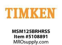TIMKEN MSM125BRHRSS Split CRB Housed Unit Assembly