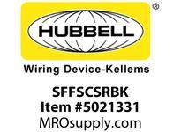 HBL_WDK SFFSCSRBK FIBER SNAP-FITFLSHSC SMPLXRDZIRCBK