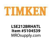 TIMKEN LSE212BRHATL Split CRB Housed Unit Assembly