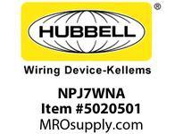 HBL_WDK NPJ7WNA WLPLT M-SIZE 1-G 1.40^ OPNG WHITE