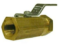 MRO 46922 1/4 FIP X FIP MINI BALL VALVE