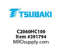 US Tsubaki C2060HC100 C2060H COTTERED 100FT