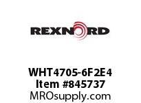 REXNORD WHT4705-6F2E4 WHT4705-6 F2 T4P
