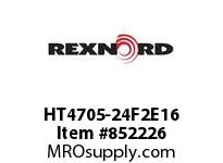 REXNORD HT4705-24F2E16 HT4705-24 F2 T16P N3 HT4705 24 INCH WIDE MATTOP CHAIN WI