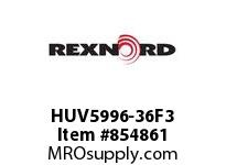 REXNORD HUV5996-36F3 HUV5996-36 F4 T3P HUV5996 36 INCH WIDE MATTOP CHAIN W