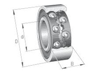 FAG 4216B.TVH DOUBLE ROW DEEP GROOVE BALL BEARING