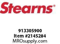 STEARNS 913305900 MSPH SL 1/4-20X1/2PL STL 8088670