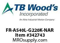 TBWOODS FR-A540L-G220K-NAR INVERTER