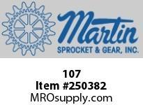 Martin Sprocket 107 HUB DETACHABLE SOLID