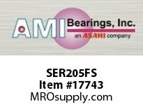 AMI SER205FS 25MM NORMAL WIDE CYL O.D. SET SCREW RING