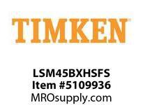 TIMKEN LSM45BXHSFS Split CRB Housed Unit Assembly