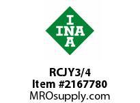 INA RCJY3/4 Four-bolt flanged unit