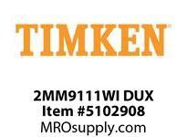 TIMKEN 2MM9111WI DUX Ball P4S Super Precision