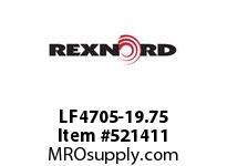 REXNORD LF4705-19.75 LF4705-19.75 148468