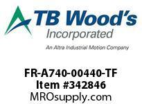 TBWOODS FR-A740-00440-TF VFD 480V 30HP 150%OL