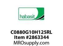 "Habasit C0880G10H125RL 880-10T X 1-1/4"" Split Idler Sprocket"
