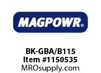 MagPowr BK-GBA/B115 GBA/GBB Blower Kit 115 VAC MAGNETIC PARTICLE CLUTCH AND BRAKE