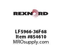 REXNORD LF5966-36F68 LF5966-36 R6 T8P