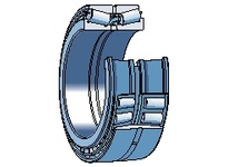 SKF-Bearing 32018 X/QDF