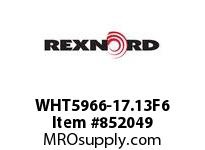 REXNORD WHT5966-17.13F6 WHT5966-17.13 R6 T17P N2
