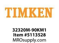 TIMKEN 32320M-90KM1 TRB Metric Assembly 8-12 OD