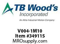 TBWOODS V004-1M10 TYPE 10 INPUT SUB HSV/14