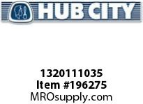 HUBCITY 1320111035 B250X3/4 BEARING INSERT