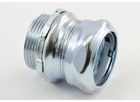 """Bridgeport 253 1-1/4"""" steel compression connector"""