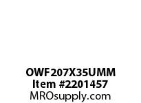 PTI OWF207X35UMM 2-BOLT FLANGE BEARING-35MM OWF 200 GOLD SERIES - NORMAL DUTY -