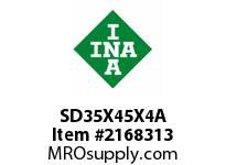 INA SD35X45X4A Seal double lip