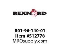 REXNORD 801-96-140-01 ANNULAR ASSEMBLY 7622539