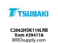 US Tsubaki C2062HSK110LRB C2062H RIV 10L/SK-1