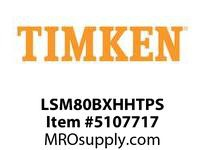 TIMKEN LSM80BXHHTPS Split CRB Housed Unit Assembly