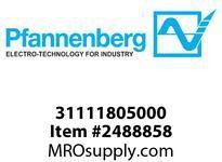 Pfannenberg 31111805000 BExBG 15-D 24V DC RD Explosive Area 1 Hz Flashing Xenon Strobe Beacon 15 Joules 24 VDC Ex-Fla