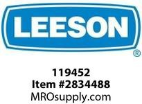 Leeson 119452 119452.001.5HP3490RPM.56J.TEFC.230/ 460V.3PH.60HZ.CONT.40C.1.15SF.C FACE WITH BASE.C6T34FK134.JET PUMP.NONE. :