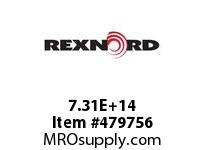 REXNORD 137818 730801078510075 80 HCB 2.4375 BORE B-LOC