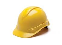Pyramex HP46130 Yellow-Ridgeline Cap Style 6 Pt Ratchet Suspension