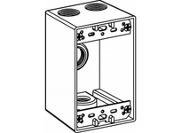 Orbit 1DB50-4 1-G W/P BOX 4 1/2^ HUBS 2-5/8^ DEEP