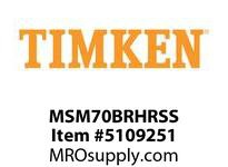 TIMKEN MSM70BRHRSS Split CRB Housed Unit Assembly