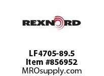 REXNORD LF4705-89.5 LF4705-89.5 LF4705 89.5 INCH WIDE MATTOP CHAIN