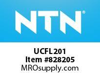 NTN UCFL201 Oval flanged bearing unit