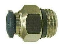 MRO 20057N 3/8 X 1/8 P-I X MIP N-PLTD ADAPT
