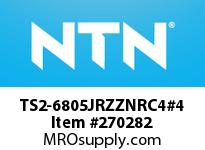 NTN TS2-6805JRZZNRC4#4 SMALL SIZE BALL BRG(THIN)