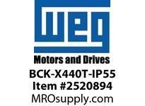 WEG BCK-X440T-IP55 IP55 CONV KIT FOR XP 444/5T Motores